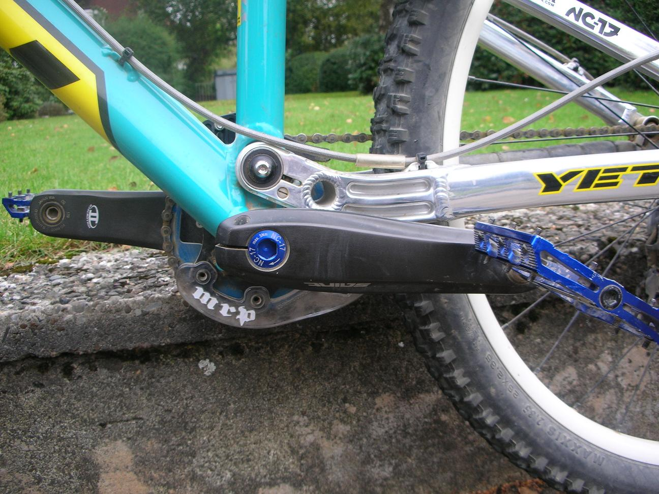 YOUR BIKES, // YOUR YETI, Andre\'s YETI 4X > built by Andre HIMSELF ...