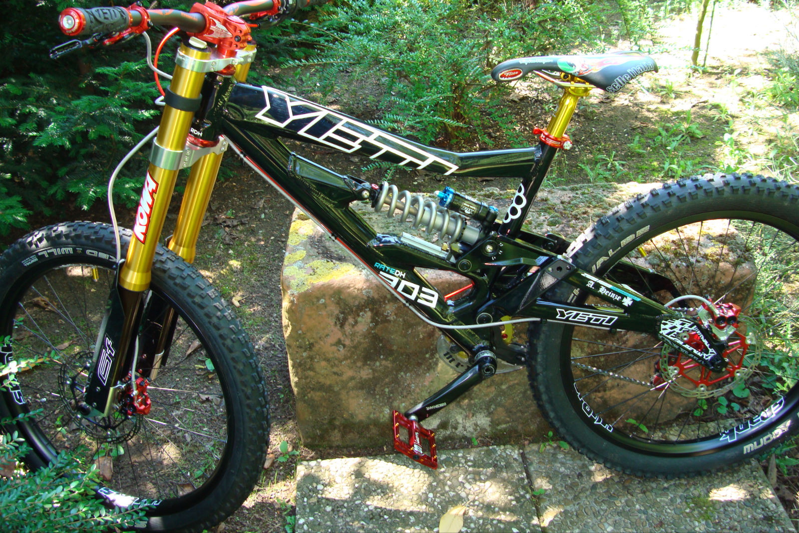 Your Bikes Your Yeti Alexander S Yeti 303 R Dh Frame And