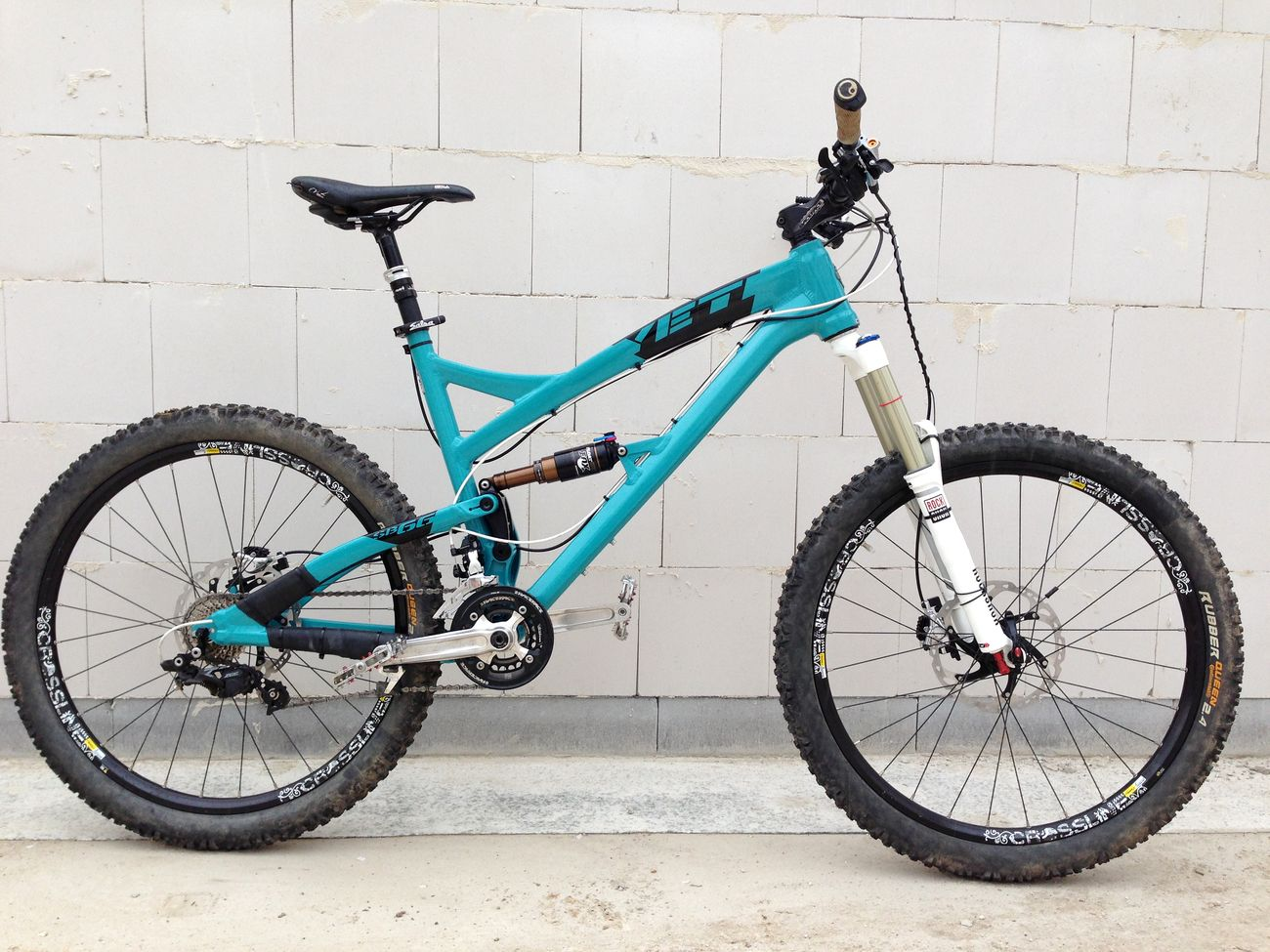 YOUR BIKES, // YOUR YETI, Karsten\'s YETI SB-66 > frame and parts by ...